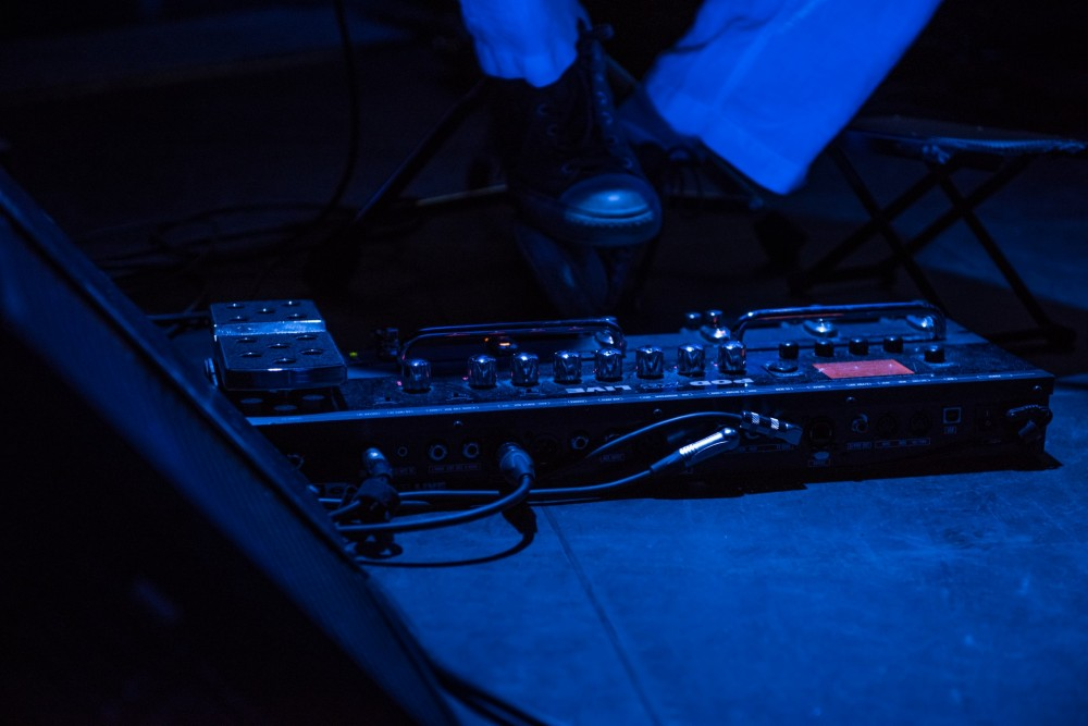 Foot Pedal Blue
